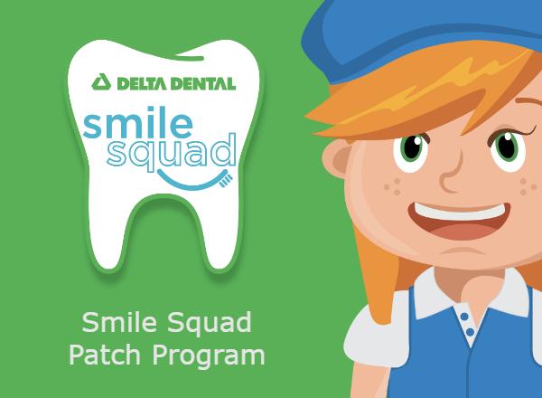 Delta Smile Squad Patch