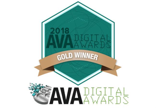 AVA Gold Medal Award