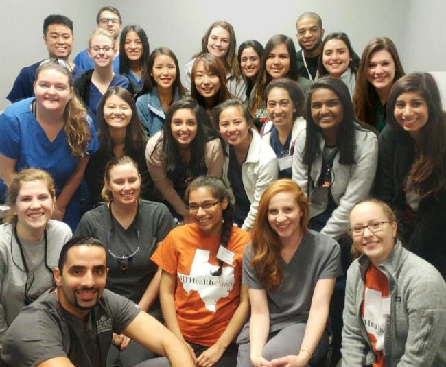 UT Volunteer Students