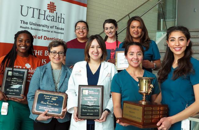 UTSD Hygiene Award Winners