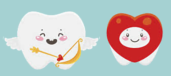 Cupid Tooth and Heart Tooth