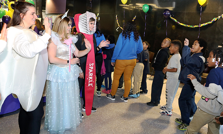Tooth Fairy Tooth, Paste and Sparkle at Give Kids a Smile Day