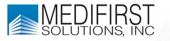 Medifirst Solutions Banner